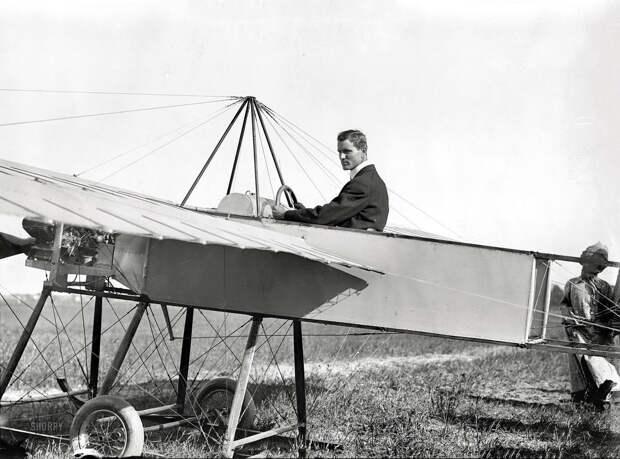 Самолеты и пилоты начала 20-го века на снимках американских фотографов (2)