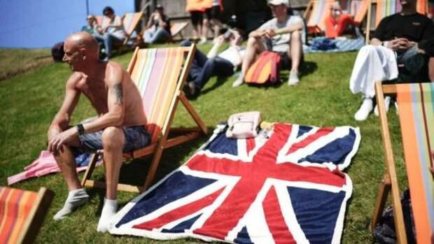Экстремальная жара в Великобритании оборвется сильным штормом