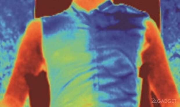 Эта ткань защитит человека в жару