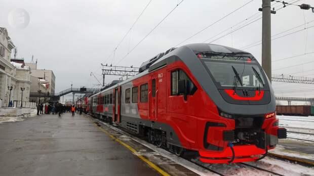 Пригородные поезда запустят между Ижевском и Игрой с 1 января