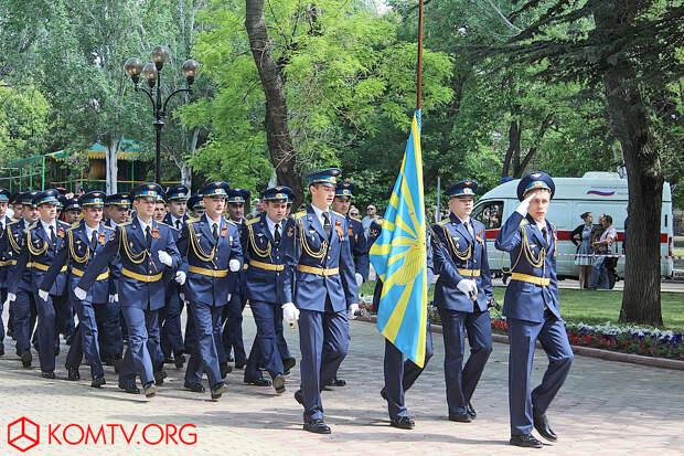 Воинский парад.