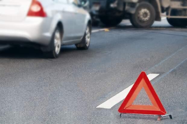 В Рязани на Московском шоссе разбились два легковых автомобиля