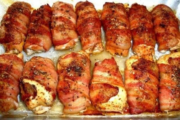 Куриные грудки фаршированные