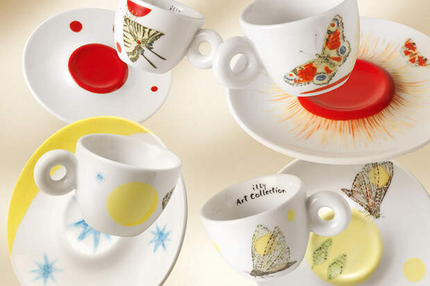 Итальянский кофейный бренд illy  представляет арт-коллекцию - последняя банка кофе