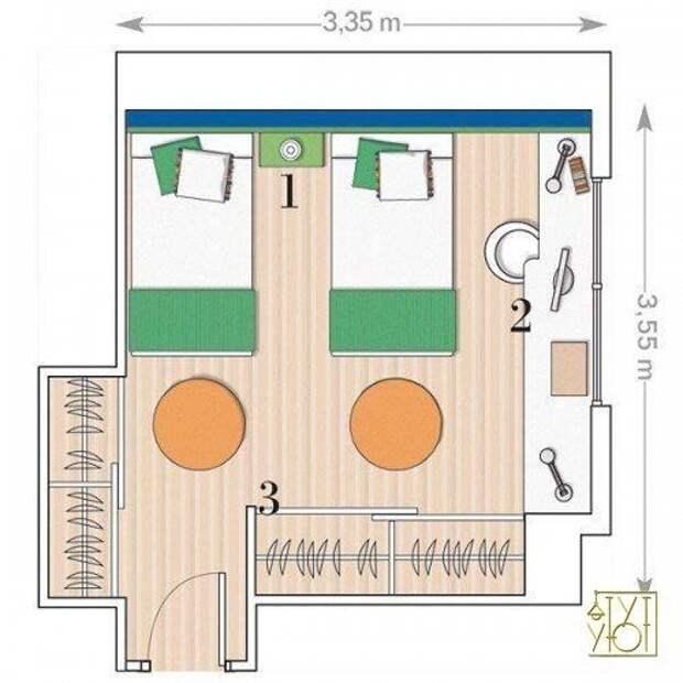 Как нарисовать план комнаты. Советы специалиста