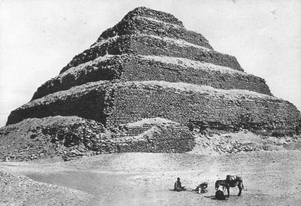 Первые фотографии Древнего Египта
