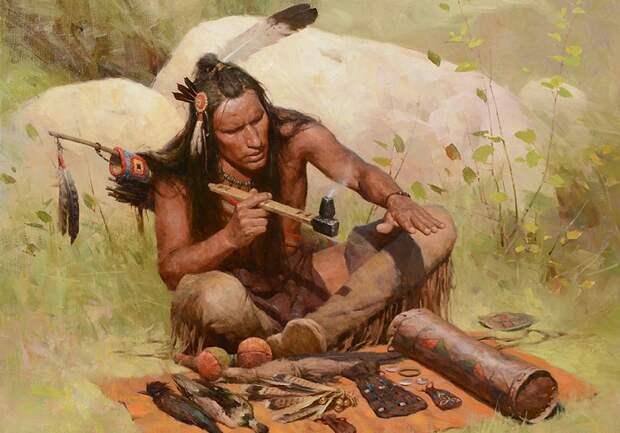 Как лечились индейцы и каких болезней не знали до прихода европейцев