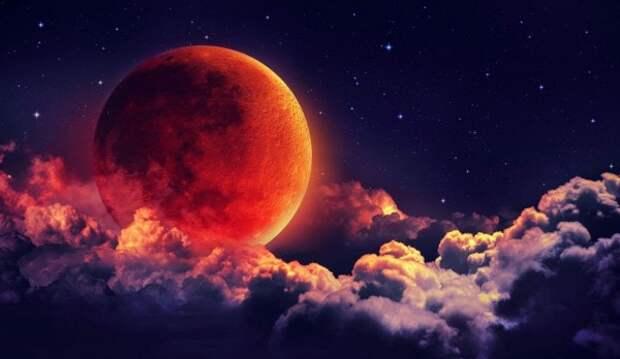 А вы видели Кровавую Луну?