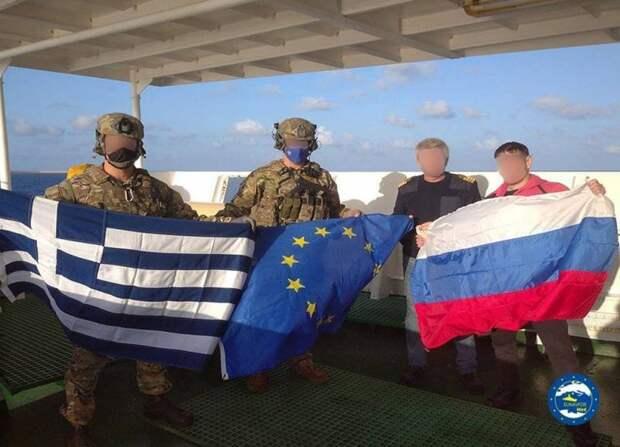 """""""Если бы спецназ НАТО захватил российский корабль силой, то через час пришлось бы спасать уже самих греков и их корабль"""""""
