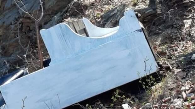 «Недолго музыка играла»: в Приморье вандалы сбросили пианино со скалы в море