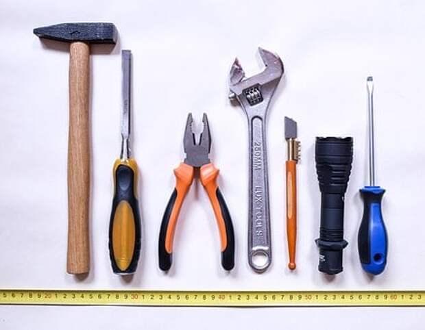 Инструменты, Работа, Ремонт, Молоток
