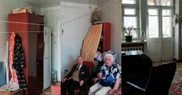 Житель Екатеринбурга на собственные средства сделал ремонт ветерану ВОВ