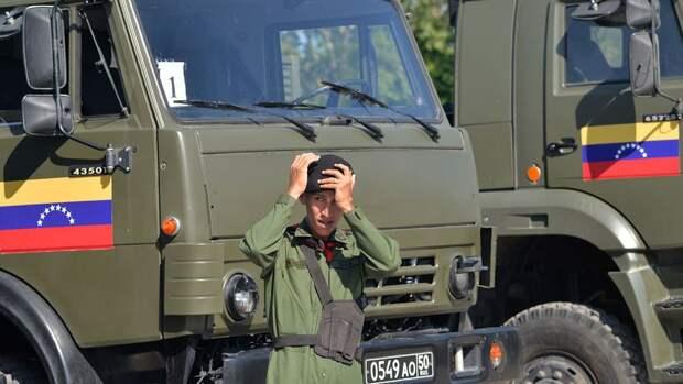 Военные Венесуэлы сбили самолет с бортовым номером США