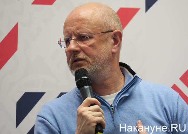 "Прямая линия, Дмитрий Пучков ""Гоблин""(2019)|Фото: Накануне.RU"