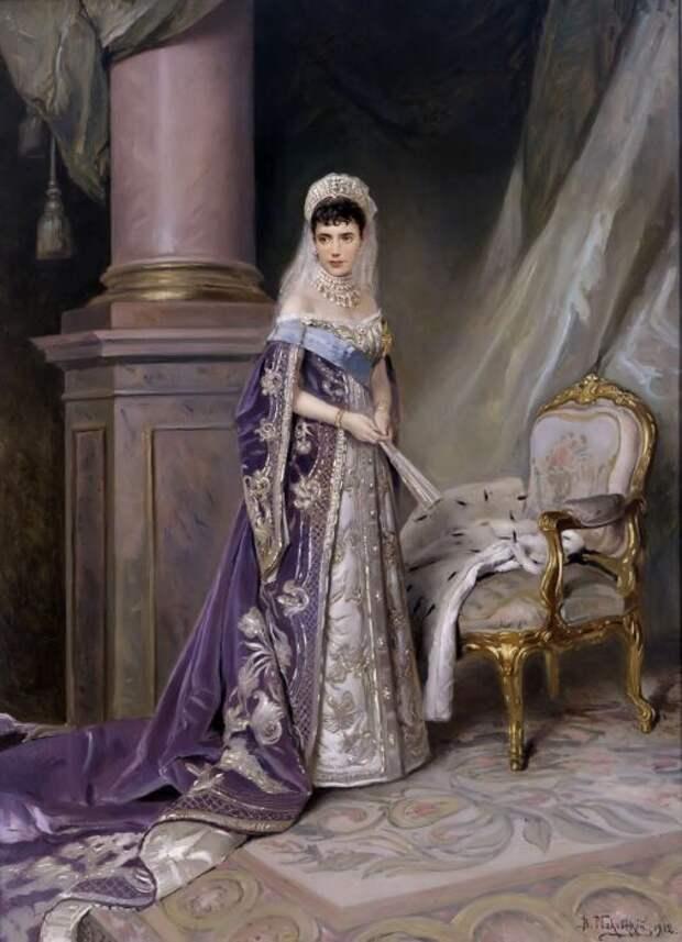 Императрица Мария Федоровна была законодательницей мод при дворе
