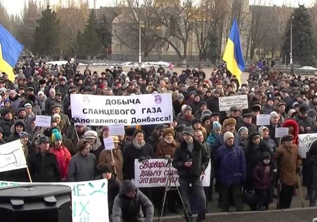 Добыча газа под Святогорском: экономика или политика плюс коррупция?