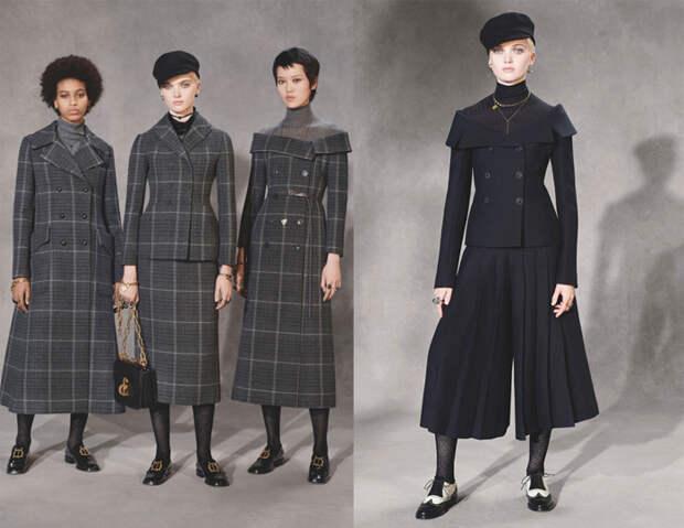 Образы сильных женщин в коллекциях Dior.