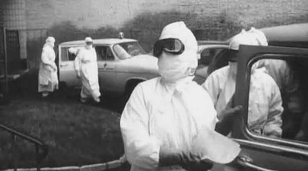 Москва, 1959 год. Разгар эпидемии черной оспы.
