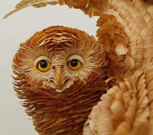 15 потрясающих скульптур из необычных материалов