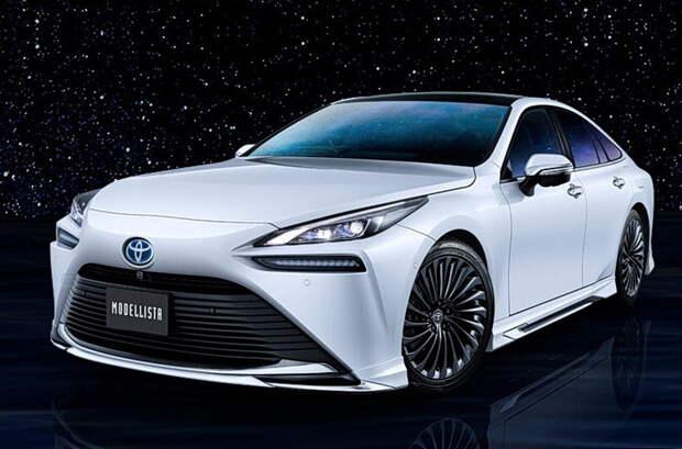 Для водородного седана Toyota Mirai разработали первый тюнинг-кит