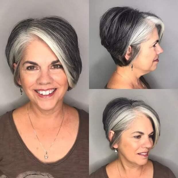 Шпаргалка по уходу за седыми волосами