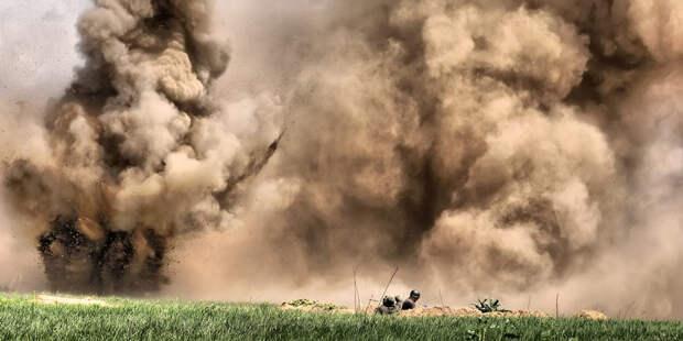 Солдаты ВСУ взорвались в собственном окопе