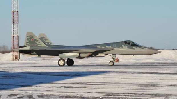 Первый серийный Су-57 поступил на вооружение Южного военного округа