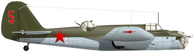 Бомбардировщик СБ 2М-105 с заводским №1/328 из 1-й эскадрильи 213-го СБАП, разбитый в аварии 11 мая 1941 года - «Бить танки противника до полного их уничтожения…» | Warspot.ru