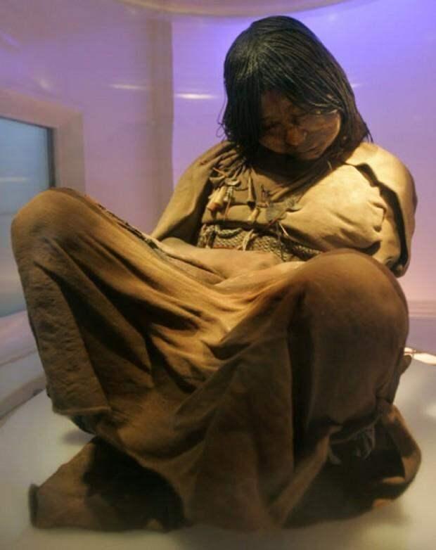 Невероятное открытие археологов: девочка из племени инков, которой более 500 лет
