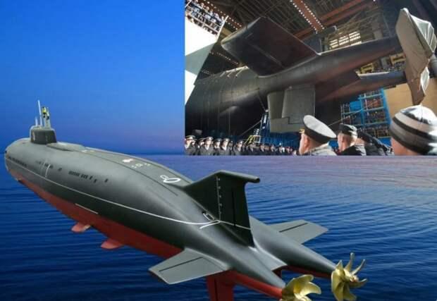 Годзилла отдыхает… Американцам напомнили о российском подводном монстре «Белгород»