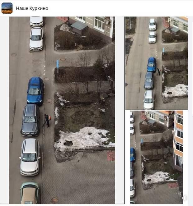 На улицы Куркина вернулся шум от «воздуходувок»