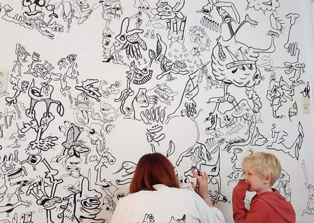 Joke Neyrinck - бельгийская художница-иллюстратор