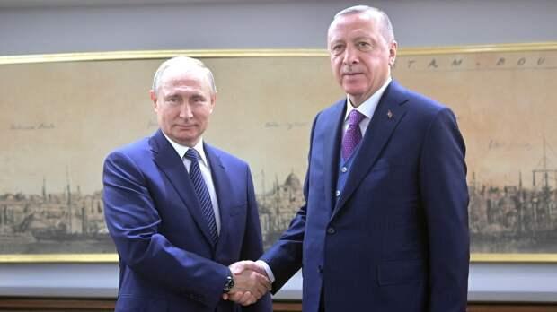 """Путин и Эрдоган по телефону обсудили поставки вакцины """"Спутник V"""""""