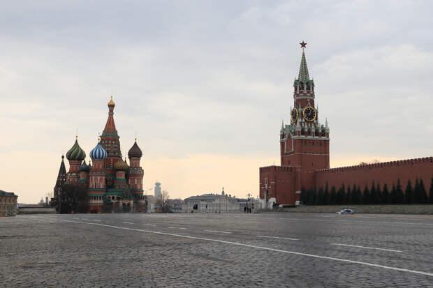 Перекрыт доступ на Красную площадь в Москве
