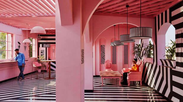 Розовый цвет в интерьере: основные тенденции 2020 года (90 фото)
