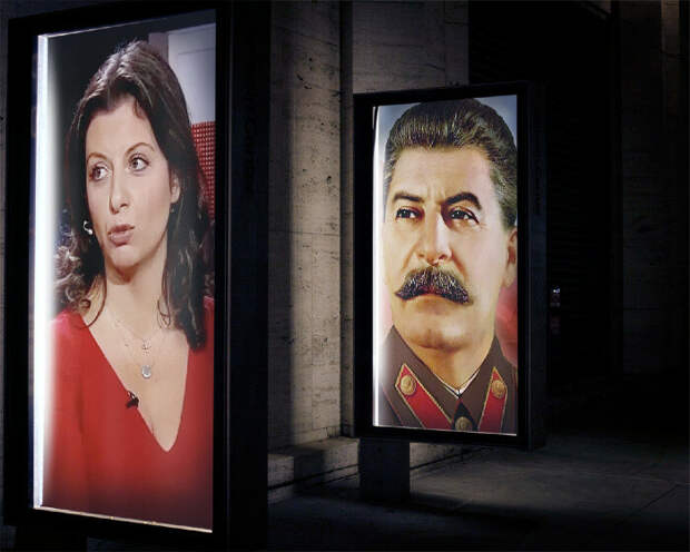 Евгений Додолев. Иосиф Сталин и Маргарита Симоньян