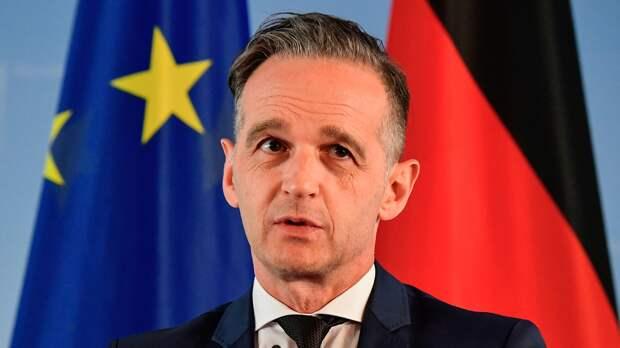 Глава МИД Германии вновь заявил о возможности санкций из-за ситуации с Навальным