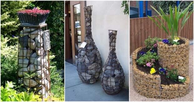Блестящие идеи использования камней в ландшафтном дизайне
