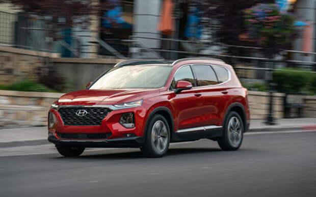 В России отзывают 557 дефектных Hyundai Santa Fe