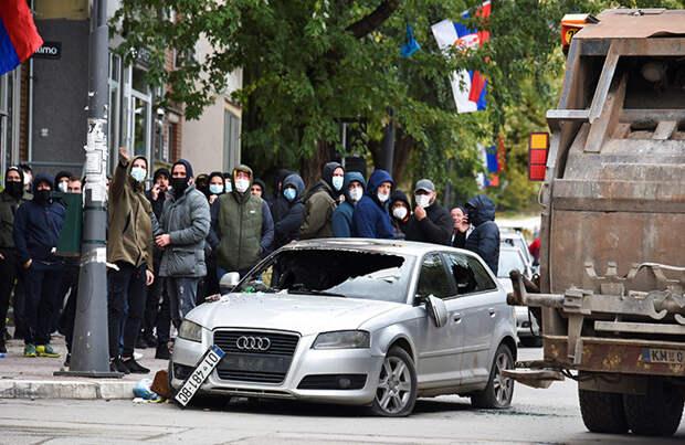 Россия считает столкновения сербов и косовских албанцев на севере Косова очень опасными