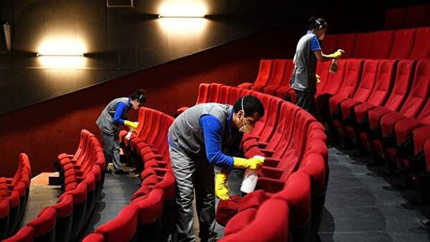 Российские кинотеатры начнут работу с 15 июля