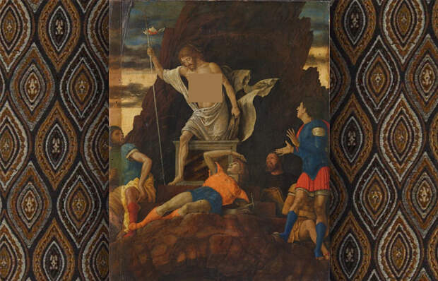 Андреа Мантенья «Воскресение Христа» (1492–93)