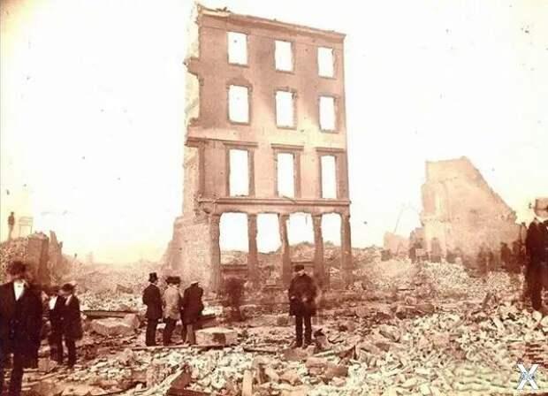 Бостон. После пожара