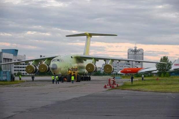 Первый серийный Ил-76МД-90А полностью собран