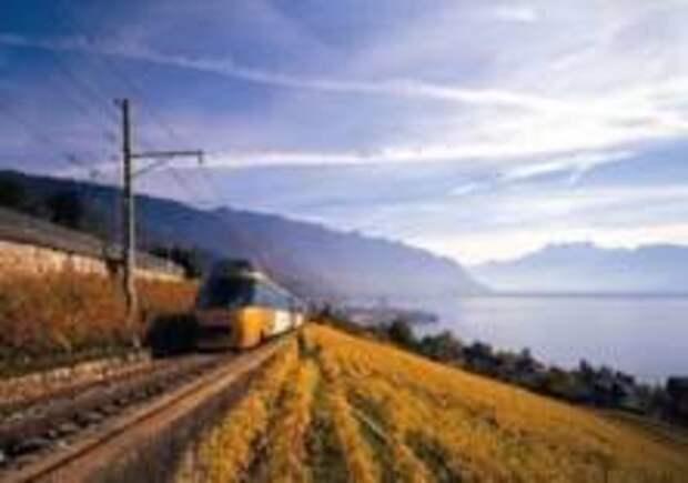 Три удивительных поезда Женевского озера