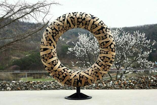 Городские скульптуры из дерева (подборка)