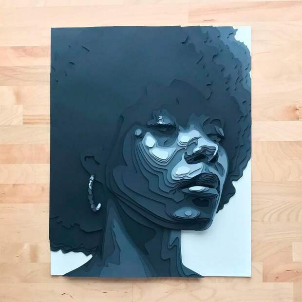 Бумажные портреты