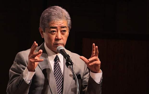 Такэси Ивая, Министр обороны Японии. Источник изображения: https://vk.com/denis_siniy