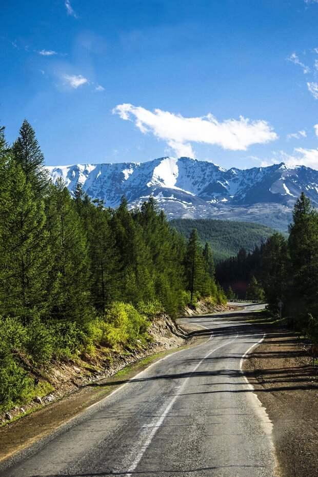 Автостопом по Республике Алтай