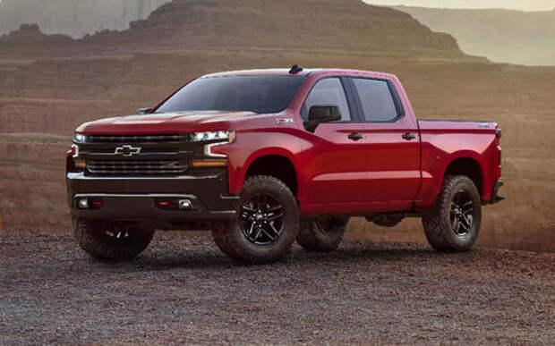 В погоне за лидером: представлены новые Chevrolet Silverado и Ram 1500